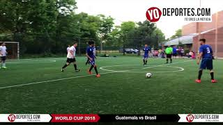 Guatemala vs Brasil Mundialito en Chicago Illinois International Soccer League