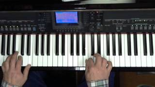 I have a dream, ABBA, Cover played on Keyboard (Yamaha CVP, Tyros)