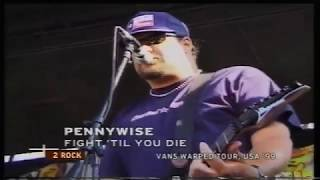 Pennywise - Fight Till You Die Live {Warped Tour 99'}