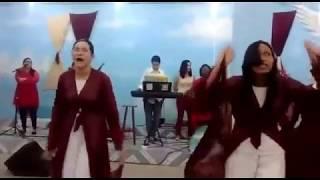 Coreografia te adorarei Guerreiras de Cristo.