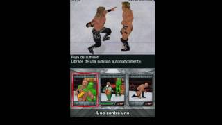WWE SvR 2010 nds - Edge vs Chris Jericho