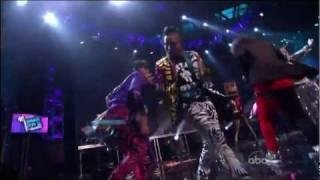 LMFAO - Shots (2011 New Year's Rockin Eve) HD 720p