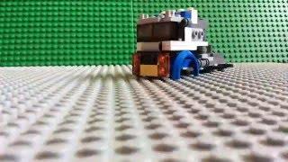 Lego Creator 1/3 Vehicle Transporter 31033 Speed Build