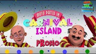 Motu Patlu In Carnival Island | Most popular Movies For Kids | Promo | WowKidz Movies