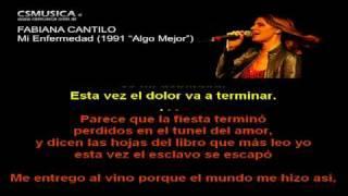 Fabiana Cantilo   Mi Enfermedad   Karaoke