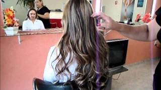 mega hair amarradinho fio de silicone Fatima