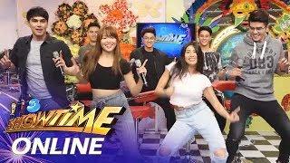 It's Showtime Online: Sunshine Garcia and Miho Nishida dance to Spaghetti Song