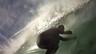 Wave of the Day! Big Surf El Porto, Los Angeles 12/16/2013