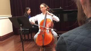 Danya Recital June 7, 2018, New England Conservatory