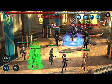 RAID: Shadow Legends | Magic Keep Stage 14 on Auto | NO EPIC or LEGENDARY!! | F2P