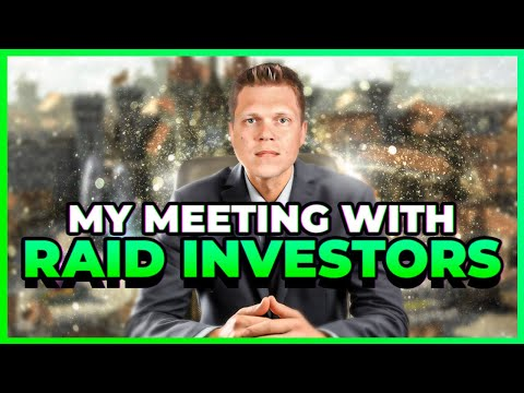 What do Investors want to know about RAID?!