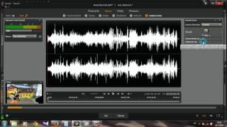Pinnacle Studio 20 - zvuk odstraneni sumu + vitr