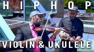 """Daft Punk - Kanye West """"Stronger"""" - B2wins Violin/Ukulele cover"""