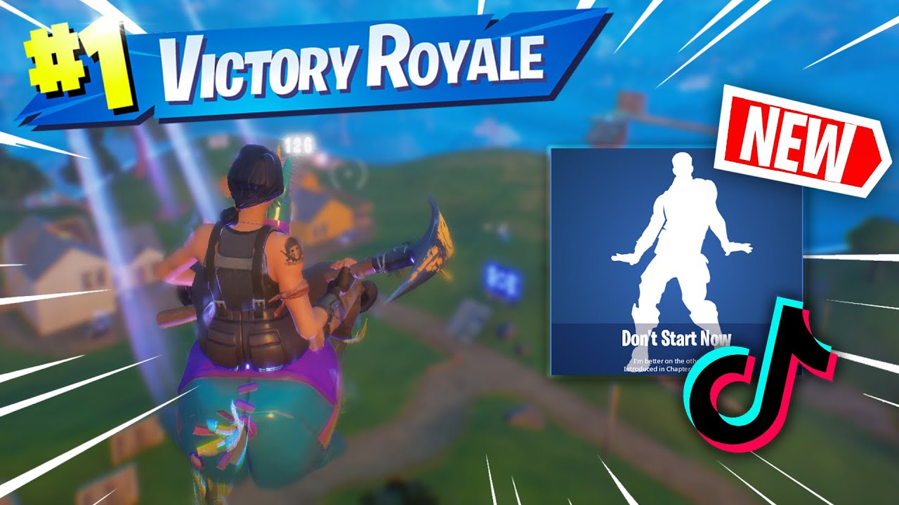 """BeeWee - Fortnite Montage - """"DONT START NOW"""" *NEW EMOTE* (DuaLipa)"""