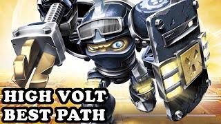 Skylanders Superchargers - High Volt - Light Fighter Path - BEST PATH - GAMEPLAY