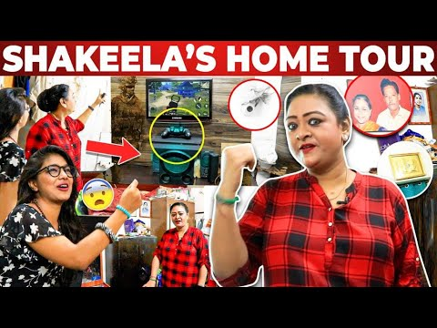 ❤️இவ்ளோ எளிமையான வீட்டுலயா Shakeela இருக்காங்க !!!  | Shakeela's Home Tour | PS4 | VJ Parvathy
