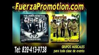 Fuerza Promotion 281-865-7092 Grupos en Houston 2