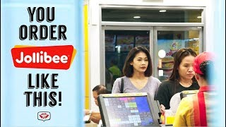 You Order Jollibee Like THIS! | Gee Canlas | GeeTv