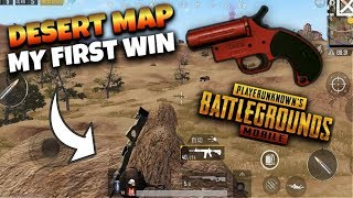 First Ever Game in Miramar and I Found a Flare Gun as soon as I Landed   PUBG Mobile Funny Moments