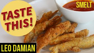Fried Smelt - The Italian Fish and Chips  (without the chips)