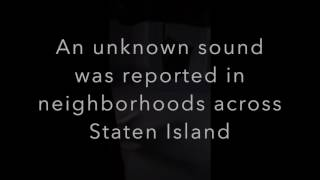 Listen: Audio of unknown sound that woke Staten Islanders