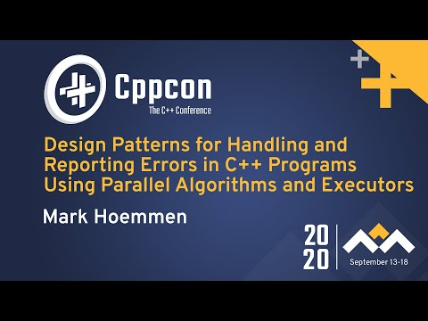 Design Patterns for Handling/Reporting Errors in C++