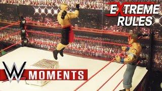 Brock Lesnar vs. John Cena: WWE Extreme Rules 2012