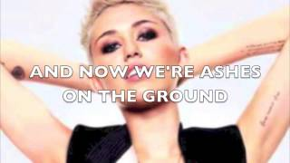 Miley Cyrus-wreacking ball,Lyrics