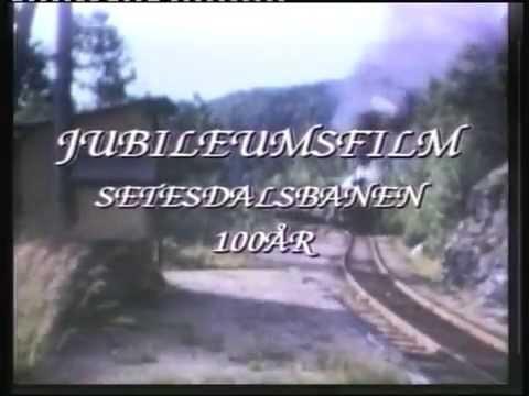 Jubileumsfilm Setesdalsbanen. 100 år.