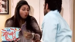 Raman PHYSICALLY ABUSES Ishita in DRUNK STATE in Yeh Hai Mohabbatein 10th April 2014 FULL EPISODE width=