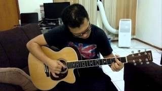 Martin 000C-16RGTE some fingerstyle playing