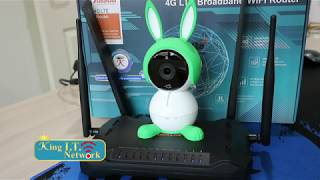 KW9621S_ArloBaby: ตัวรับสัญญาณ 4G ชุดกล้อง Arlo Baby