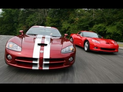 Dodge Viper and Corvette Z06
