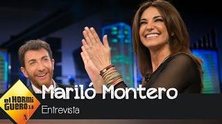 """Mariló Montero: """"EEUU me está tomando el pulso constantemente"""" - El Hormiguero 3.0"""