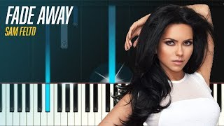 "Sam Feldt x Lush & Simon feat. INNA - ""Fade Away"" Piano Tutorial - Chords - How To Play - Cover"
