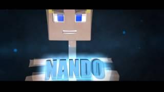 #9 INTRO @NANDO ll MINECRAFT STYLE ll By: SILVA D&SIGN&R