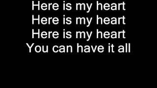 Here Is My Heart ❦Jesus Culture❧
