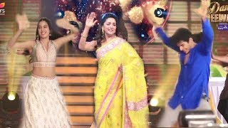 Madhuri Dixit's MAD Zingat Dance On Jhanvi Kapoor & Ishaan Khattar's Dhadak Promotions-Dance Deewane