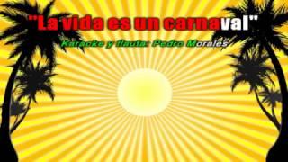 """""""La vida es un carnaval"""" en flauta dulce con notas (Celia Cruz)"""