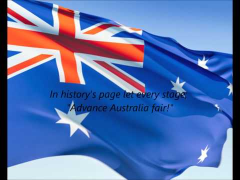 Australian National Anthem - \