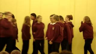 """pitfour school's p7s singing """"time of your life"""""""
