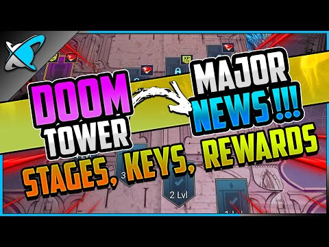 DOOM TOWER **MAJOR NEWS** | Keys, Stages & Rewards Explained!! | RAID: Shadow Legends