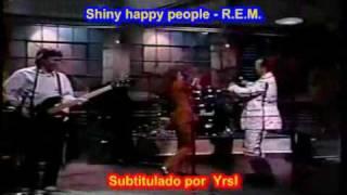 R.E.M.  - Shiny happy people  ( SUBTITULADO INGLES ESPAÑOL )