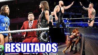 RESULTADOS DE WWE SMACKDOWN LIVE 9 DE OCTUBRE DE 2018