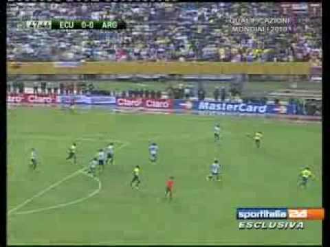 Ecuador – Argentina 2-0 del 11.06.2009