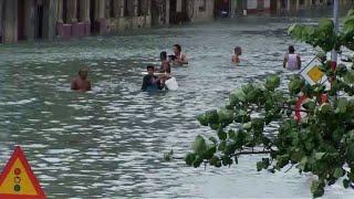 Cuba: balayée par Irma, La Havane en partie innondée