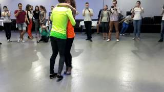 AfroLatin Connection - Kizomba Leading and Following Techniques (All Levels) KISF 2016