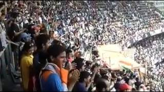 'Sachin Sachin' Chant during Sachin Tendulkar's final Test at Wankhede Stadium in 2013.