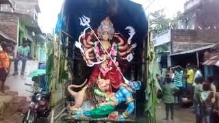 Mahachhai village Durga pooja bisarjan (bhawani)(2017)
