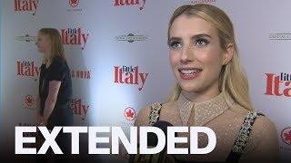 Emma Roberts Talks 'Crazy' New 'American Horror Story' Season | EXTENDED